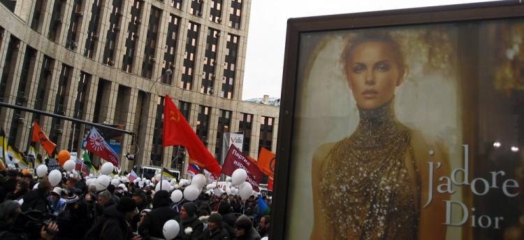 Moscou adore Dior