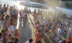 Latin Dancing on the Moskva River