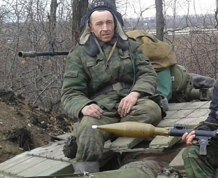 Russian tank commander